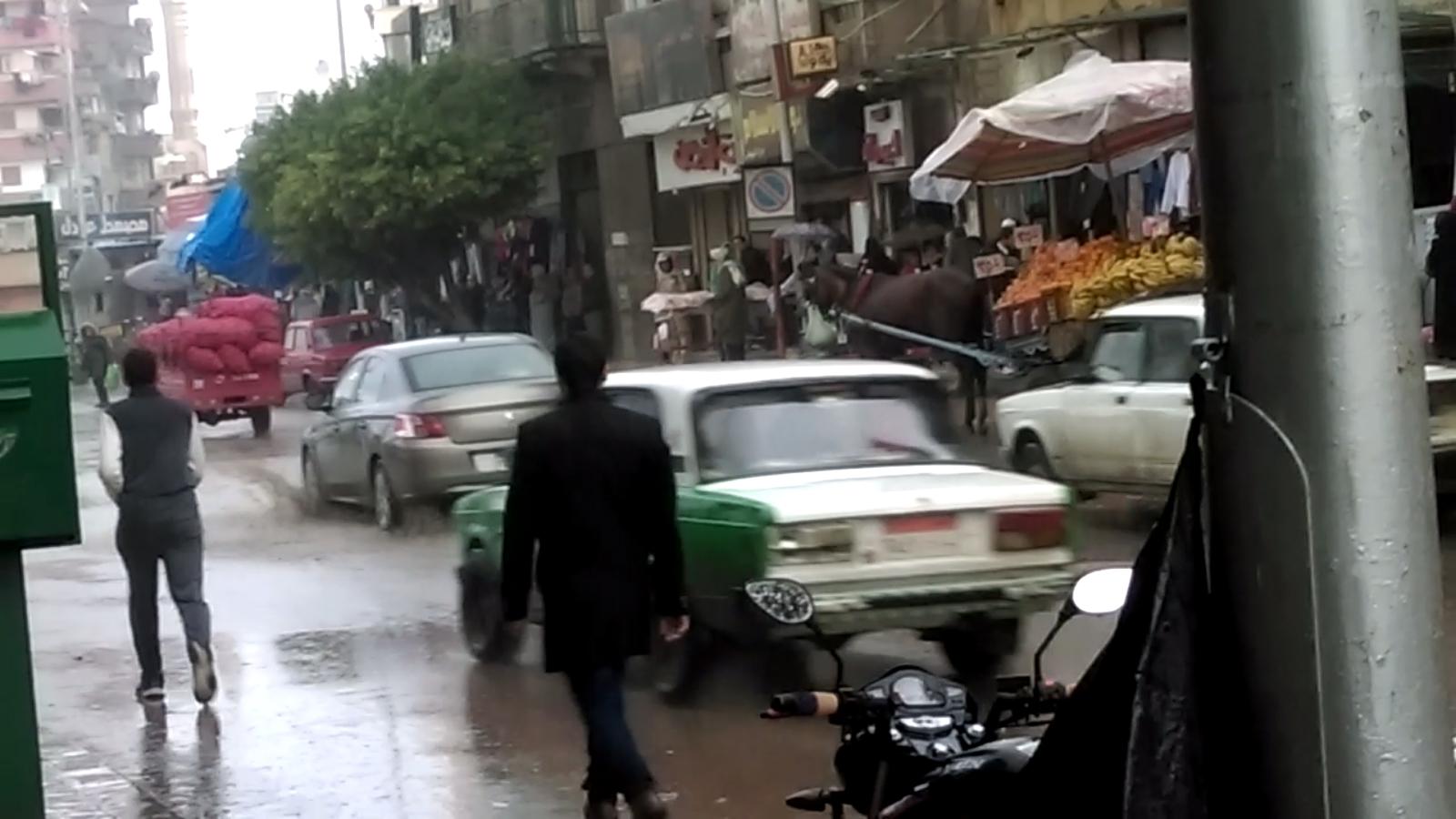 بالصور.. أمطار غزيرة تضرب محافظة البحيرة لليوم الخامس علي التوالي