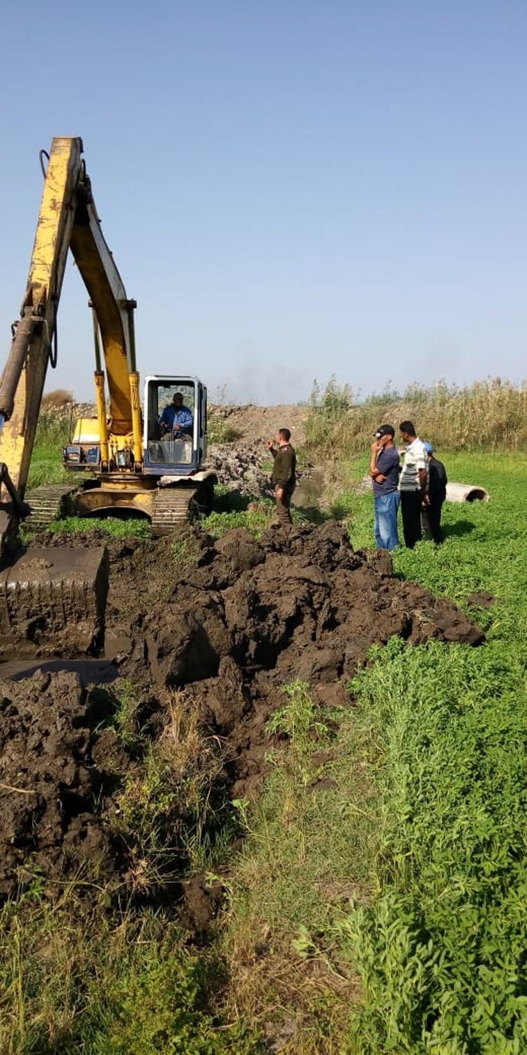 وزارة الري تواصل حملات إزالة التعديات على النيل بمختلف المحافظات