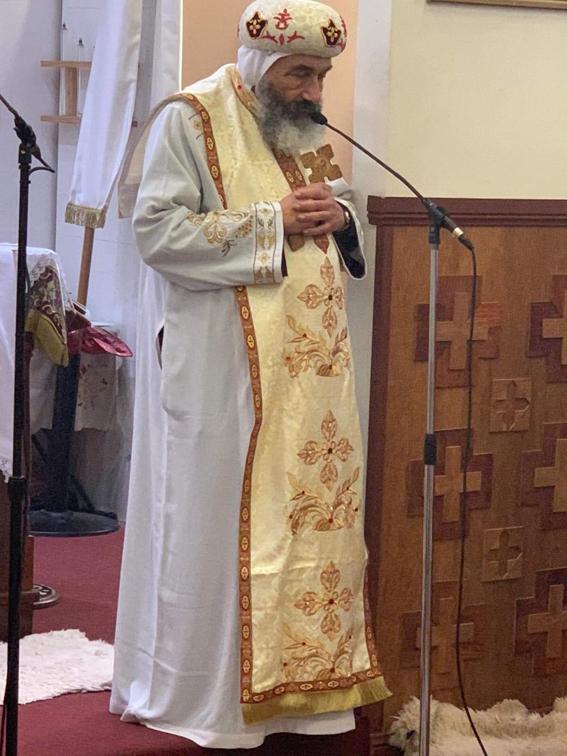 مطران بورسعيد يترأس اول قداسات برامون الغطاس بكنيسة القديس الانبا إبرام بيكهرست سيدنى