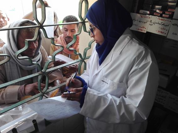 قافلة طبية توقع الكشف الطبى على 2231 موطن بمركز كوم أمبو بأسوان