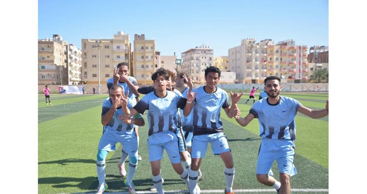 صعود منتخبا المنيا والدقهلية لنهائيات دوري مراكز الشباب للصم