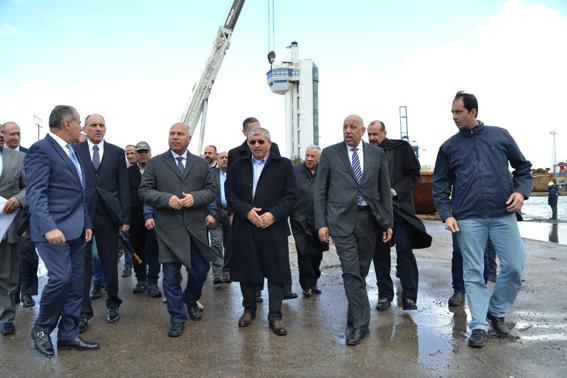 """بحضور """"الوزير"""" توقيع عقد إنشاء محطة متعددة الأغراض بميناء الأسكندرية بتكلفة 5 مليار جنيه"""