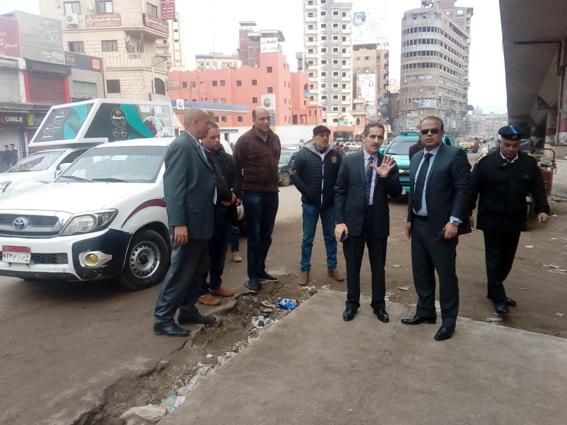 محافظ الغربية يتابع انتظام العمل والمشروعات الجارية بجولة مفاجئة على مدينة المحلة الكبرى
