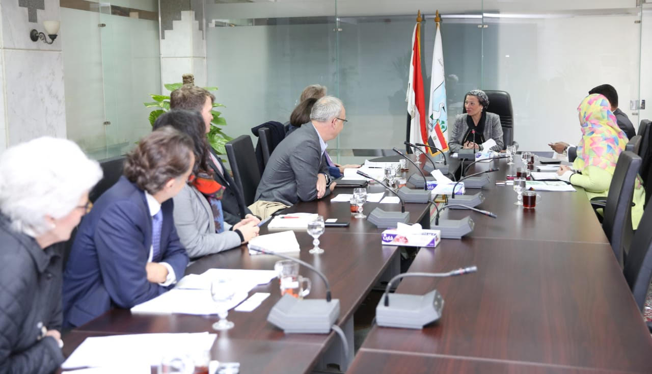 وزيرة البيئة تناقش التعاون المصري الألماني في مجال إدارة المخلفات والتنوع البيولوجي