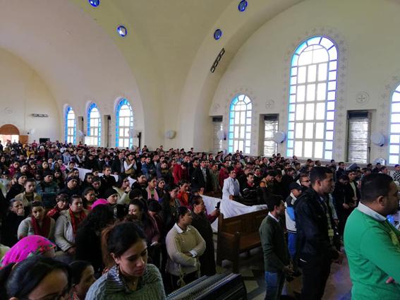 الكنائس الارثوذكسية تحتفل بالعيد الثالث لشهداء العصر الحديث 15 فبراير