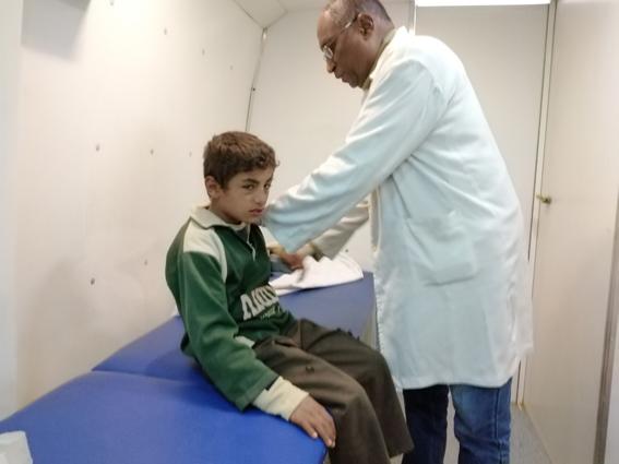 قافلة طبية توقع الكشف الطبى على 1575 موطن بقرية المنار بنصر النوبة بأسوان