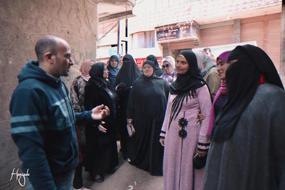 """""""القومي للمرأة"""" يواصل فعاليات طرق الأبواب في الغربية ضمن مبادرة مراكب النجاة"""