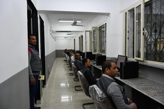 محافظ الفيوم ومساعد وزير الداخلية ومدير الأمن يفتتحون قسم مرور أبشواي