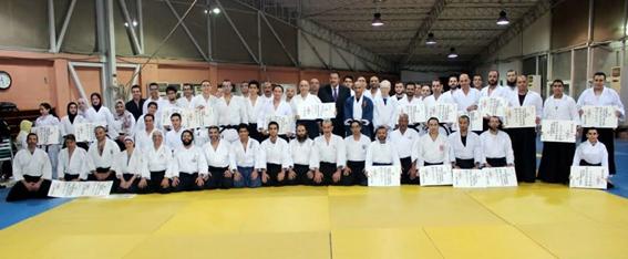 سفير اليابان يشارك في تدريبات الأيكيدو مع المصريين