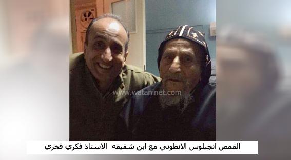 """نجل شقيق القمص انجليوس الأنطوني لـ """"وطني"""":حالته مستقرة ويصلي من أجل مصر و الكنيسة"""
