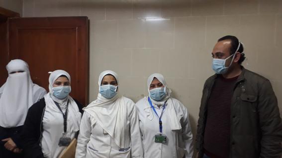 رغم المخاطر.. استمرار العمل بمستشفى العبور للتأمين الصحي بكفرالشيخ على مدار الـ24 ساعة