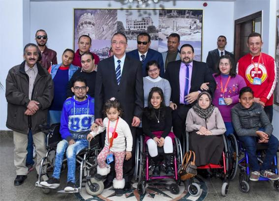 محافظ الإسكندرية : تخصيص ٢ كابينة بكبائن استانلي مجاناً لذوي الإحتياجات الخاصة