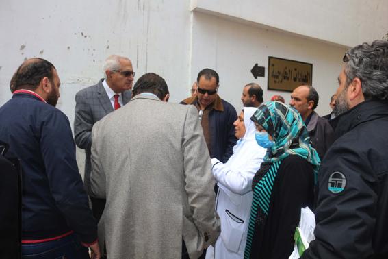 نائب رئيس جامعة المنصورة : الكشف على ٧١٦ من ابناء شلاتين