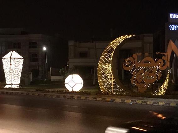 جهاز مدينة القاهرة الجديدة ومستثمرو المدينة ينفذان مبادرة لتجميل وتزيين الجزر والميادين والأماكن العامة