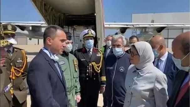 """وزيرة الصحة تصل إلى إيطاليا حاملة رسالة تضامن من الرئيس السيسي للشعب الإيطالي فى إطار أزمة """"كورونا"""""""
