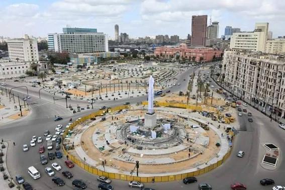 """ميدان التحرير ...""""شارل ديجول"""" الشرق يجدد شبابه"""