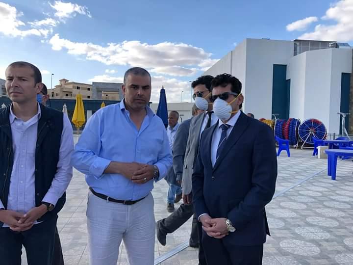 وزير الشباب الرياضة يتفقد مركز الجزيرة ٢ ونادي النادي بأكتوبر