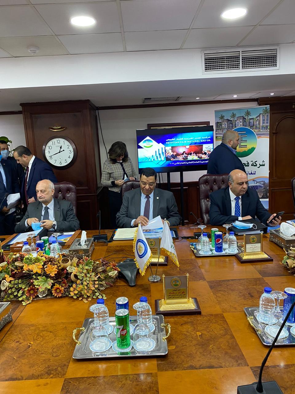 """وزير البترول يعتمد نتائج أعمال الجمعية العامة ل""""فجر المصرية"""""""