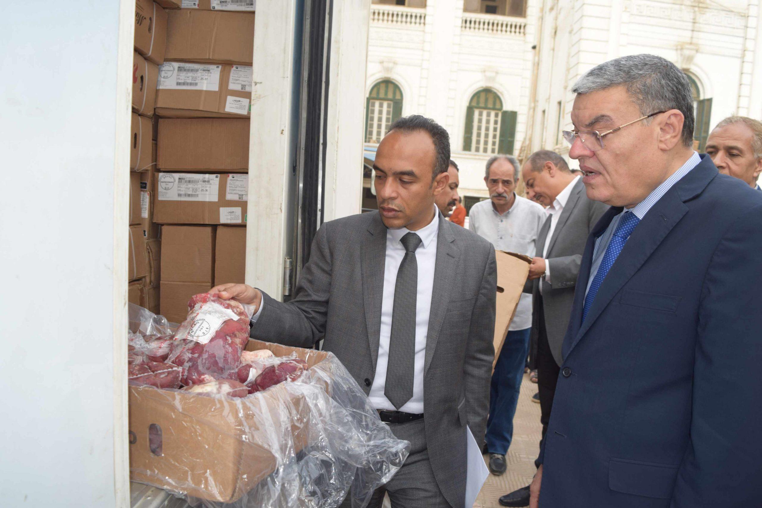 توزيع 2000 كيلو لحوم للأسر في قرى الحجر الصحي