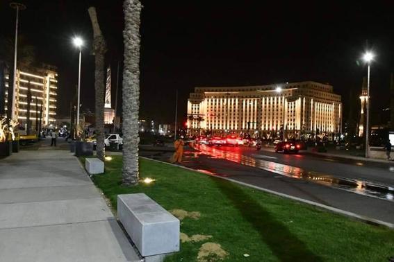 ميدان التحرير يتجمل إستعدادًا لإفتتاحه