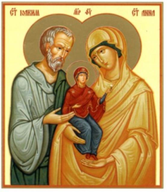 في ملء الزمان ميلاد القديسة مريم العذراء