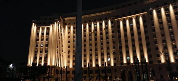 """إستشارى مشروع التحرير لأعمال الإضاءة لـ """"وطنى"""": الإنتهاء من إضاءة كافة منشآت الميدان .. والكشافات المستخدمة ذات جودة عالية"""
