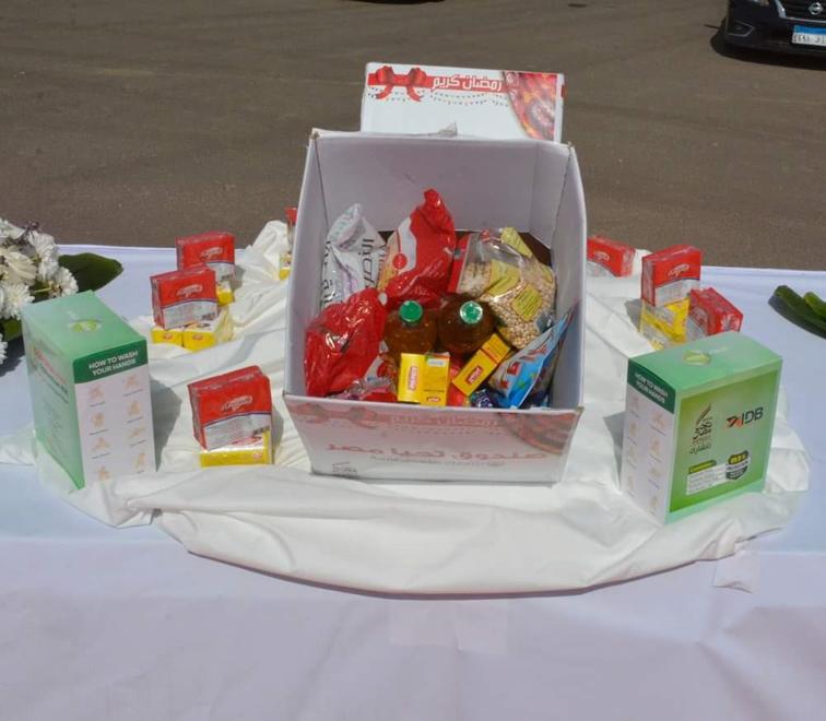محافظ الجيزة ... 10 الاف كرتونه مواد غذائية و20 طن لحوم من صندوق تحيا مصر لدعم الأسر الأكثر احتياجاً بالمحافظة