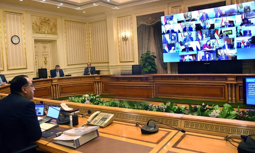 """وزيرة الصحة تستعرض جهود مجابهة """"كورونا"""" خلال اجتماع مجلس الوزراء"""