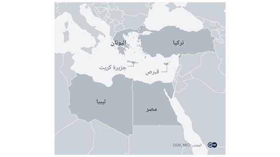 مصر واليونان يتفقان على ترسيم الحدود البحرية الاقتصادية لمنع