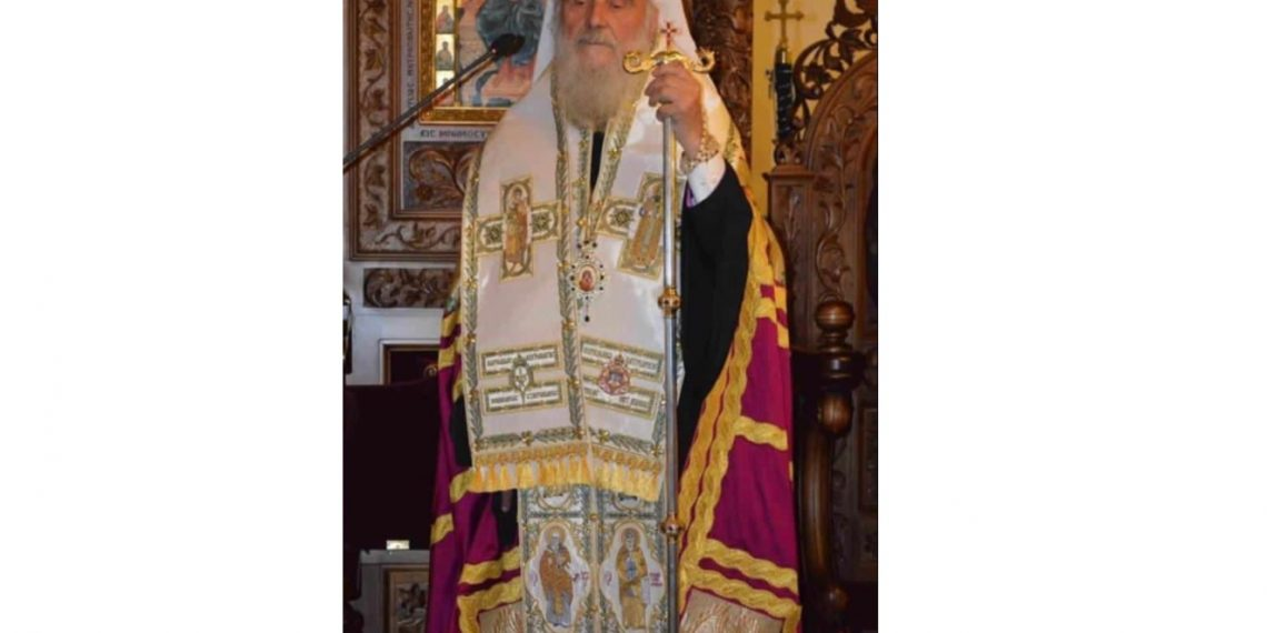 الأنبا إرميا يعزي الكنيسة الصربية الأرثوذكسية في انتقال البطريرك إيريناوس